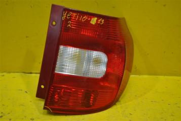 Запчасть фонарь задний правый Skoda Yeti 2010-2013