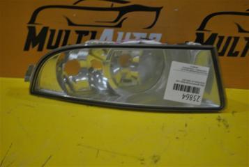 Запчасть фара противотуманная передняя правая Skoda Octavia 2008-2013