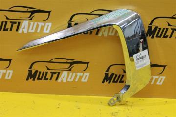 Запчасть хром бампера передний правый Mitsubishi Pajero Sport 2015-