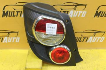 Запчасть фонарь задний левый Chevrolet Aveo 2011-2017