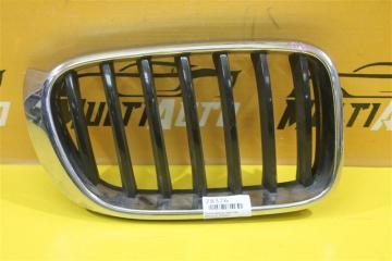 Запчасть решетка радиатора передняя правая BMW X3 2014-2017