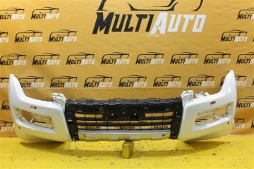 Запчасть бампер передний Mitsubishi Pajero 2014-2020