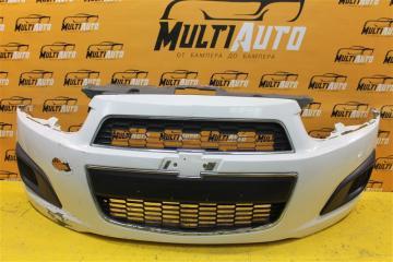 Запчасть бампер передний Chevrolet Aveo 2011-2017