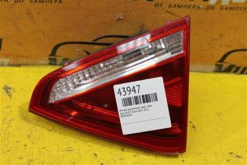 Запчасть фонарь внутренний задний правый Audi A5 2007-2011
