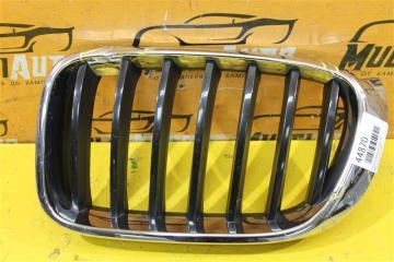Запчасть решетка радиатора передняя левая BMW X3 2014-2019