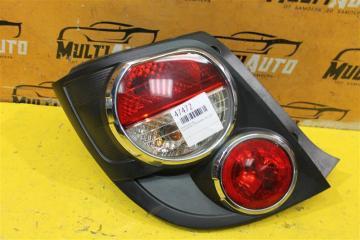 Запчасть фонарь задний левый Chevrolet Aveo 2011-2015
