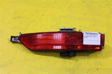 Запчасть фонарь противотуманный задний левый Volkswagen Touareg 2010-2014