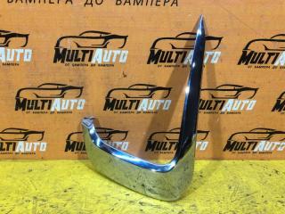 Запчасть хром бампера передний правый Mitsubishi Pajero Sport 2015-2019