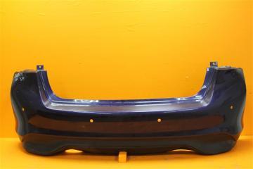Запчасть бампер задний Nissan Tiida 2015-2018