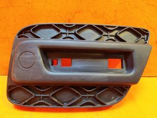 Запчасть накладка бампера задняя левая Renault Sandero 2013-нв