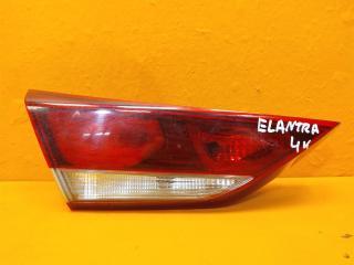Запчасть фонарь внутренний левый Hyundai Elantra 2015-2019