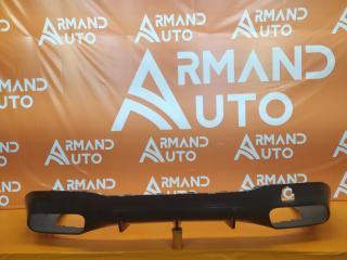 Запчасть юбка бампера задняя Mercedes AMG GT 2018-нв
