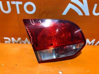 Запчасть фонарь внутренний левый Volkswagen Golf 2008-2012