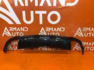 Запчасть накладка бампера задняя Audi RS5 2017-нв
