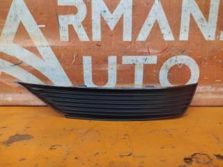 Запчасть накладка бампера задняя левая Audi Q3 2018-нв