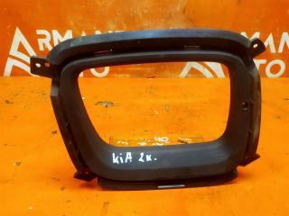 Запчасть окантовка птф передняя левая Kia Sorento 2012-2019