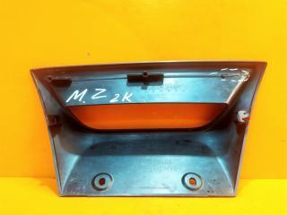 Запчасть накладка бампера задняя Mazda 3 2013-2016