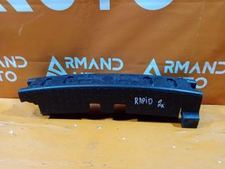 Запчасть абсорбер бампера передний Skoda Rapid 2014-нв