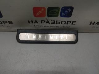 Запчасть накладка на порог внутренняя задняя правая INFINITI G35 2007