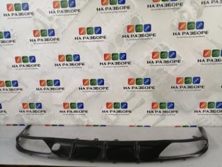 Запчасть накладка на бампер задняя LEXUS GS 350