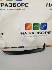 Накладка на бампер передняя правая Renault logan 2014