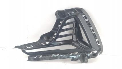 Запчасть окантовка птф левая Hyundai Sonata 2014-