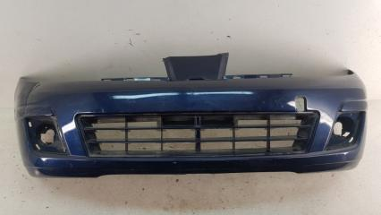 Запчасть бампер передний Nissan Tiida 2007-2014