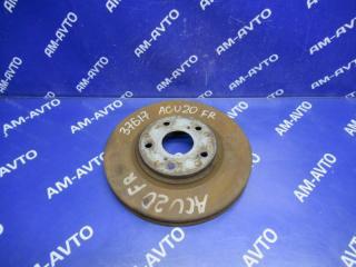 Запчасть диск тормозной передний правый TOYOTA KLUGER V