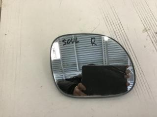 Запчасть зеркальный элемент правый Kia Soul 2013-2018