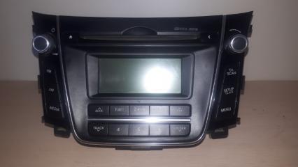 Запчасть магнитола Hyundai I30 2012-