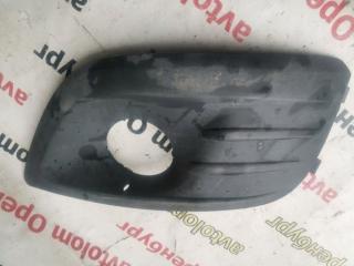 Запчасть накладка противотуманки передняя левая Лада Ларгус