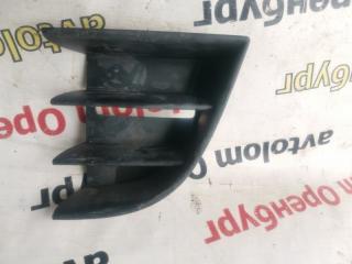 Запчасть решетка бампера передняя левая Skoda Octavia