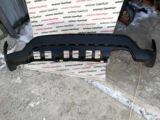 Запчасть накладка бампера задняя Kia Rio X-line