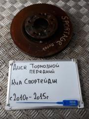 Запчасть диск тормозной передний Kia Sportage 2011-2017