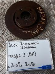 Запчасть диск тормозной передний Mazda 3 2008