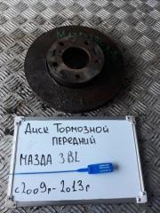Запчасть диск тормозной передний Mazda 3 2009-2013