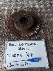 Запчасть диск тормозной задний Mazda 6 2007-2013