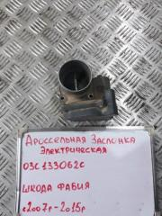 Запчасть дроссельная заслонка Skoda Fabia 2007-2015