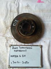 Запчасть диск тормозной передний левый Mazda 6 2007-2013