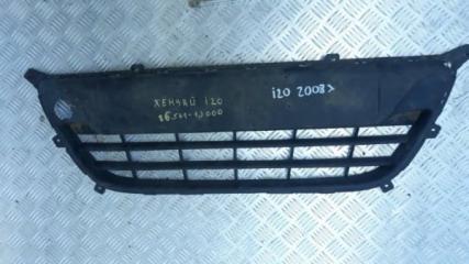 Запчасть решетка нижняя в бампер Hyundai i20 2008-2014