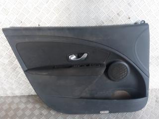 Запчасть обшивка двери передняя левая Renault Megane 3 2009-2016