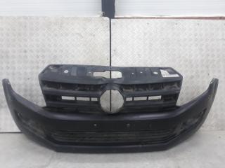 Запчасть бампер передний Volkswagen Amarok 2010-2012