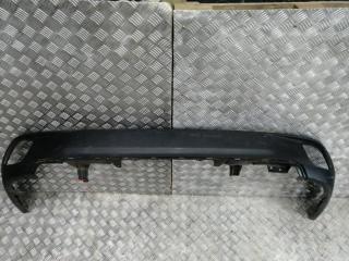 Запчасть накладка на бампер задняя Toyota Highlander 2013-2017