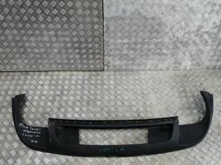 Запчасть накладка на бампер задняя Volkswagen Touareg 2010-2015