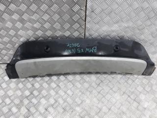 Запчасть накладка на бампер задняя BMW X5 2007-2013
