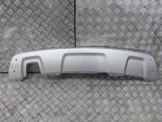 Запчасть накладка на бампер задняя Renault Duster 2012