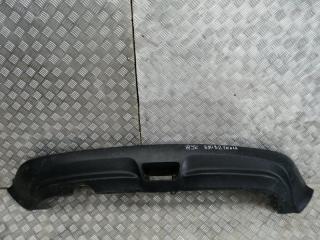 Запчасть накладка на бампер задняя Nissan Juke 2011- 2014