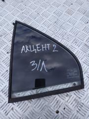 Запчасть форточка двери задняя левая Hyundai Accent 2000-2012