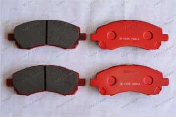 Тормозные колодки передние переднее SUBARU Impreza 2000 - 2011