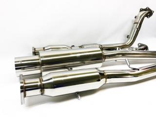 Выхлопная система SUBARU Impreza WRX 2000 - 2007